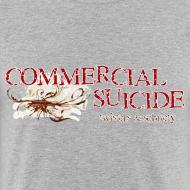 Motiv ~ T-Shirt slim-fit grau