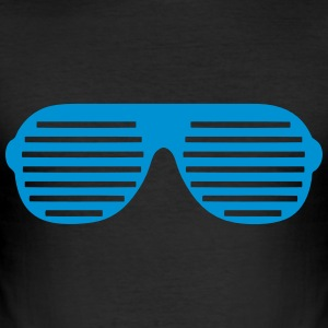 Grill_Brille T-Shirts - Männer Slim Fit T-Shirt