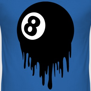 8 ball design T-Shirts - Men's Slim Fit T-Shirt