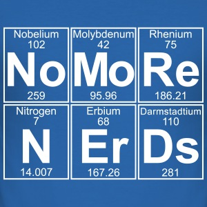 No -Re N-Er-Ds (no more nerds) - Full T-shirts - Slim Fit T-shirt herr