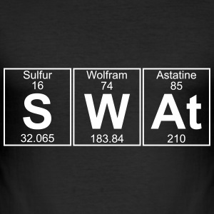 S-W-At (swat) - Full T-Shirts - Men's Slim Fit T-Shirt