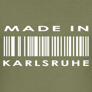 Brun Karlsruhe T-shirts - Herre Slim Fit T-Shirt