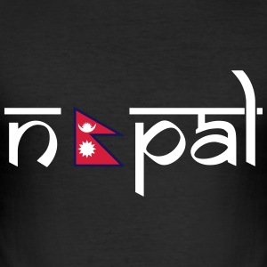 Nepal  T-Shirts - Men's Slim Fit T-Shirt