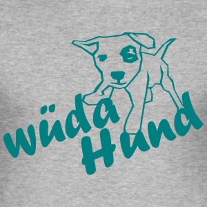 wueda_hund T-Shirts - Männer Slim Fit T-Shirt