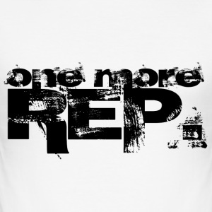 one more REP. - Männer Slim Fit T-Shirt