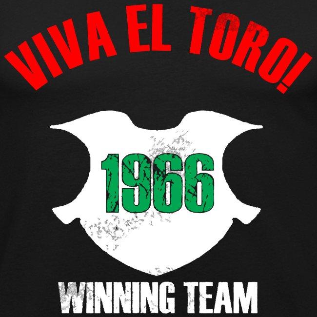 VIVA EL TORO! Winning Team. Slim shirt with front and back print