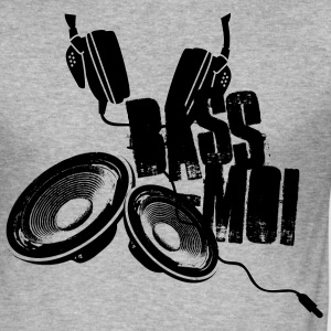 bass-moi baise-moi bass lautsprecher speaker soundsystem T-shirts - Herre Slim Fit T-Shirt