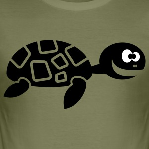 Turtle - Männer Slim Fit T-Shirt