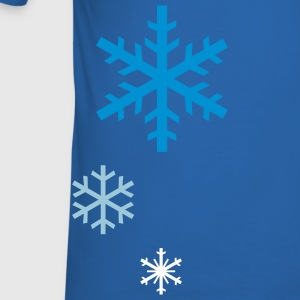 Snowflakes - Men's Slim Fit T-Shirt