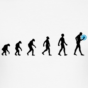 evolution smartphone T-Shirts - Männer Slim Fit T-Shirt