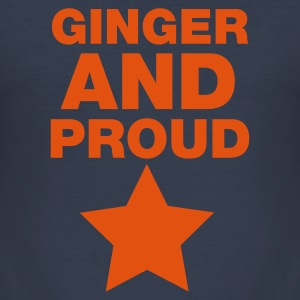 Ginger And Proud Star T-Shirts - Men's Slim Fit T-Shirt