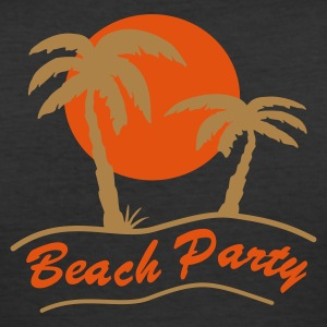 Beach Party - Männer Slim Fit T-Shirt