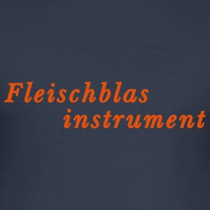 Fleischblasinstrument T-Shirts - Männer Slim Fit T-Shirt