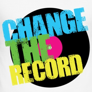 Change The Record T-Shirts - Men's Slim Fit T-Shirt