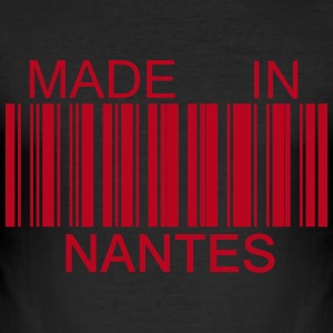 T shirt Made in Nantes 44 - Tee shirt près du corps Homme
