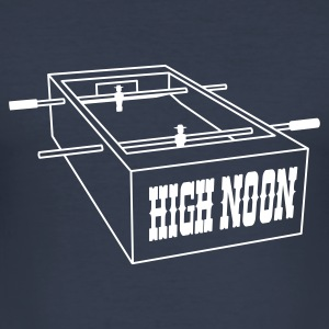 High Noon - Tischfußball T-Shirt - Männer Slim Fit T-Shirt