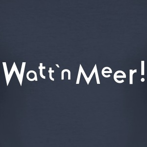 wattenmeer T-Shirts - Männer Slim Fit T-Shirt