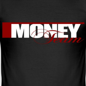 Money Team T-Shirts - Männer Slim Fit T-Shirt