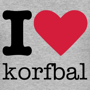 I Love Korfbal T-shirts - slim fit T-shirt