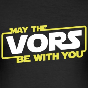 May The Vors Be With You -  Slim fit - Slim Fit T-skjorte for menn
