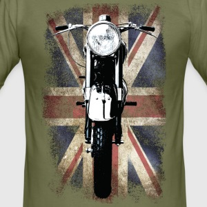 Vintage Motor Cycle BSA feature patjila T-Shirts - Men's Slim Fit T-Shirt