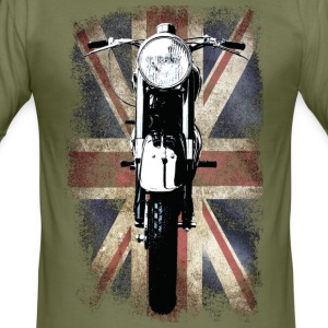Vintage Motor Cycle BSA feature patjila T-shirts - slim fit T-shirt