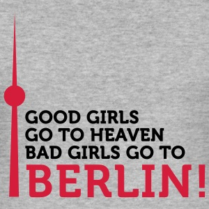 Bad Girls go to Berlin (2c) T-Shirts - Men's Slim Fit T-Shirt