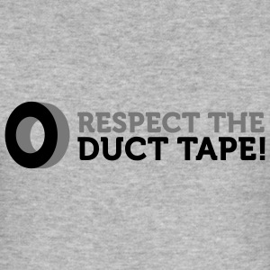 Respect the Duct Tape (2c) T-shirts - Slim Fit T-shirt herr
