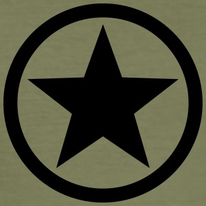 Star circle Anarchy Master Black Rebel Revolution T-shirts - slim fit T-shirt