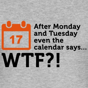 Calendar says WTF? (2c) T-shirts - Herre Slim Fit T-Shirt