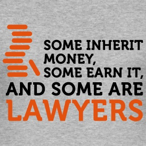 Some Men are Lawyers (2c) T-shirts - Herre Slim Fit T-Shirt