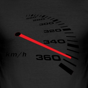 Turbo Tacho Extrem - Männer Slim Fit T-Shirt
