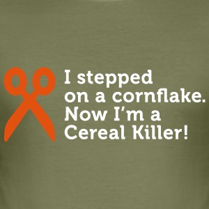 I'm a Cereal Killer (2c) T-shirts - Herre Slim Fit T-Shirt