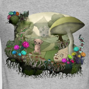 Trip among shrooms - Men's Slim Fit T-Shirt