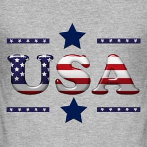 usa_2 T-Shirts - Men's Slim Fit T-Shirt