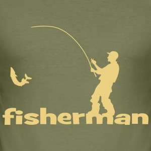 Fisherman - Männer Slim Fit T-Shirt