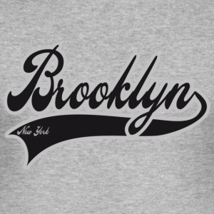brooklyn new york T-shirts - slim fit T-shirt