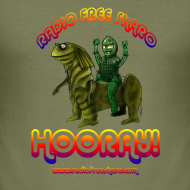 Design ~ Hooray! (Slim T-Shirt)