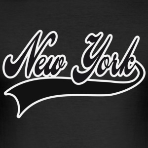 new york T-shirts - slim fit T-shirt
