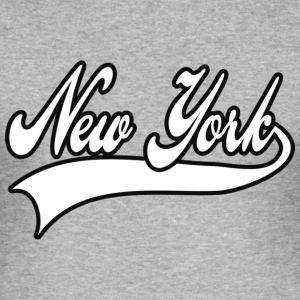 new york T-skjorter - Slim Fit T-skjorte for menn