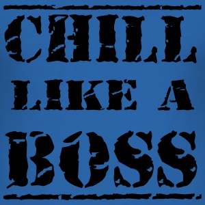 Chill like a boss T-shirts - Herre Slim Fit T-Shirt