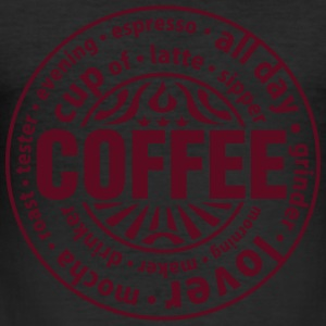 Coffee lover T-Shirts - Männer Slim Fit T-Shirt