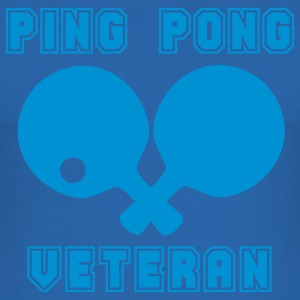 PING PONG VETERAN T-Shirts - Men's Slim Fit T-Shirt