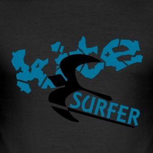 KITE surfer - Men's Slim Fit T-Shirt