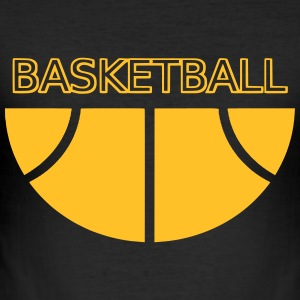 basketball T-shirts - Slim Fit T-shirt herr