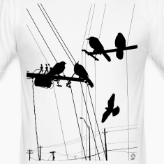 AD Birds T-shirts