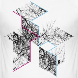 AD Rhombus T-shirts - Herre Slim Fit T-Shirt