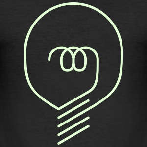 bulb - Männer Slim Fit T-Shirt