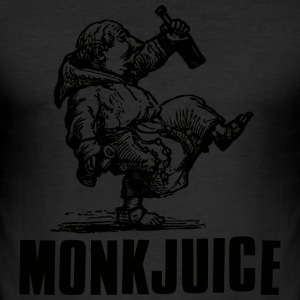 MonkJuice T-Shirts - Men's Slim Fit T-Shirt