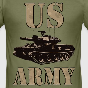 US Army 01 Tee shirts - Tee shirt près du corps Homme